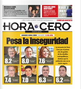 Hora Cero Nuevo León Edición # 208