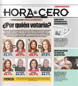 Hora Cero Nuevo León Edición # 222