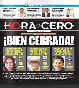 Hora Cero Nuevo León Edición #242