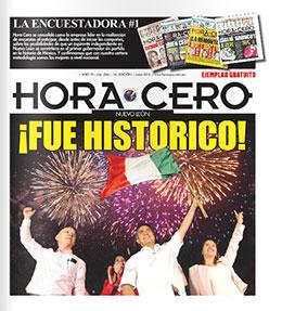 Hora Cero Nuevo León Edición #247
