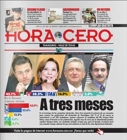 Hora Cero Tamaulipas Edición #338