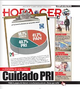 Hora Cero Tamaulipas Edición# 391