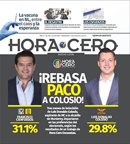 Se adelanta Paco Cienfuegos en Monterrey